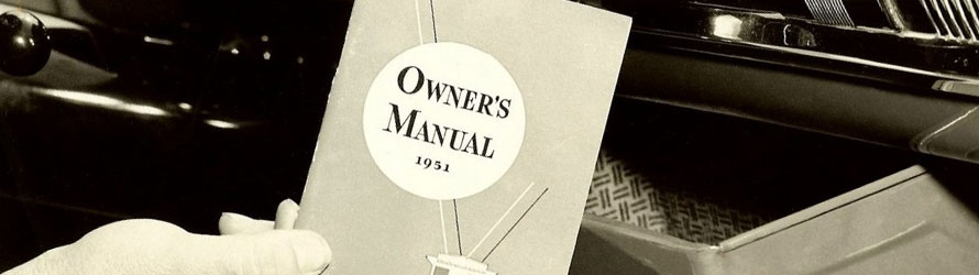Find car owners manual for any car